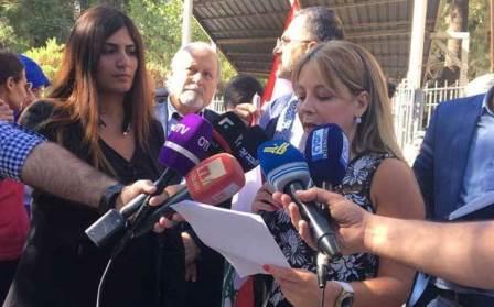 إعتصام لتحالف «مُتحدون» أمام قصر العدل : لمحاسبة المختلسين والفاسدين في الضمان