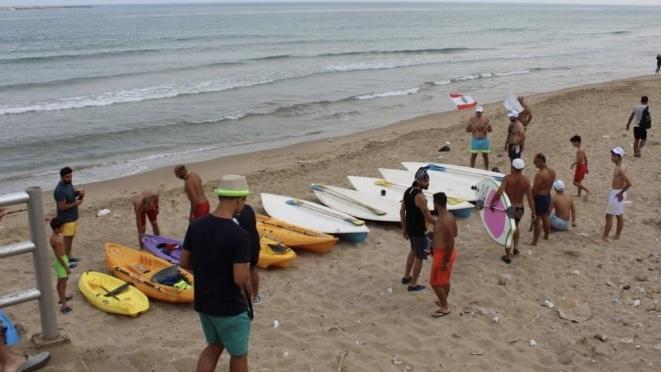 شاطىء صيدا: نسبة التلوث الى تزايد