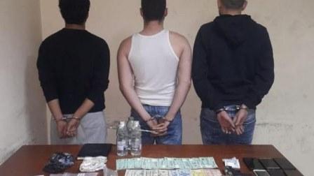 توقيف 3 أشخاص في برج حمود بجرم تجارة وترويج المخدرات وضبط كمية منها