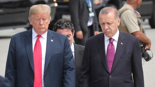 ترامب لأردوغان: سوريا كلها لك.. لقد انتهينا!