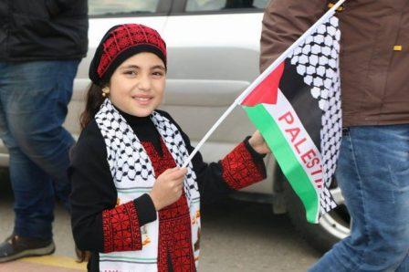 وقفة تضامنية نصرة للقدس وفلسطين للكشاف العربي -صيدا