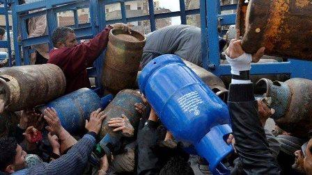 أزمة الغاز تقترب من نهايتها في دمشق ودعوة لعدم مساعدة تجار السوق السوداء
