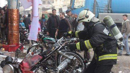 قتلى في سلسلة انفجارات بشمال غرب سوريا