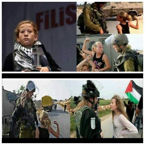 تحية فخر وإكبار إلى زهرة فلسطين عهد التميمي