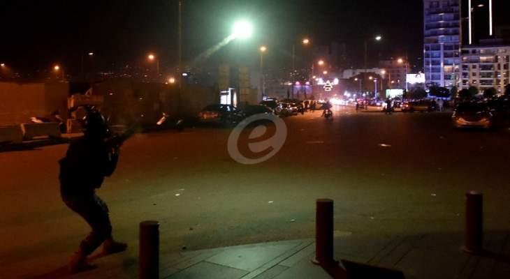 ارتفاع وتيرة الاشتباكات بين المتظاهرين والقوى الامنية في بيروت