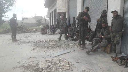 الجيش السوري يسيطر على أحد أبرز معاقل المسلحين على تخوم إدلب