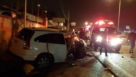 جريحة بحادث سير على المسلك الغربي لأوتوستراد العقيبة