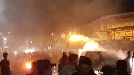 مقتل وإصابة العشرات في تفجير استهدف سوقاً شعبياً قرب حلب