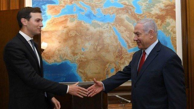 نتنياهو يستقبل كوشنر في القدس لبحث