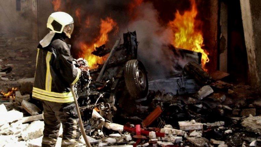 قتلى وجرحى في انفجار سيارة مفخخة قرب حلب