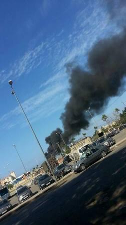 بالصورة: حريق كبير قرب الحسبة في صيدا في مركز تجميع الكسر