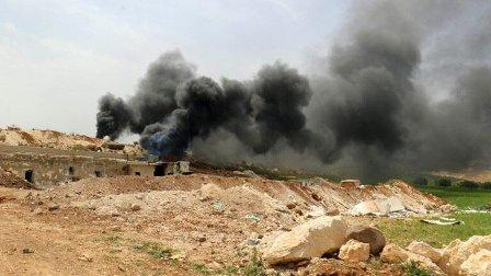 الجيش السوري يدمر نفقا في إدلب يحتوي ورشات لصنع طائرات مسيرة