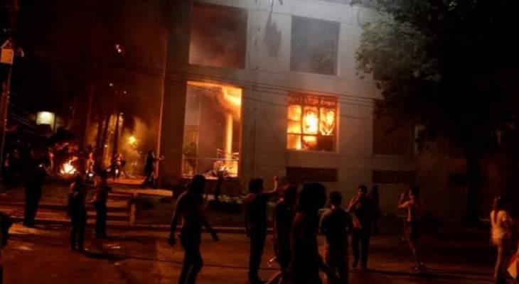 اندلاع حريق في فيلا بمجدليون والدفاع المدني يعمل على اخماده