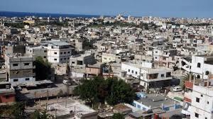استحداث مدخل البركسات في مخيم عين الحلوة للمشاة وتجهيزه لتعقيم الداخلين من قبل الدفاع المدني الفلسطيني في المخيم بهدف الوقاية والحماية من فايروس كورون
