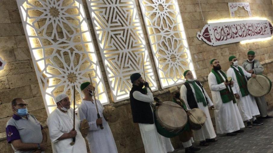 بالفيديو والصور: المسحراتي بهجة رمضان في صيدا