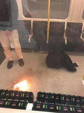 هلع في مترو لندن... شاحن هاتف خليويّ إنفجر