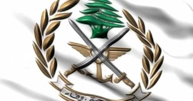 الجيش : 6 طائرات تابعة للعدو الإسرائيلي خرقت الاجواء اللبنانية