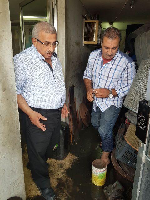 أسامة سعد خلال جولة تفقدية في صيدا: من غير المقبول أن تتحول الشوارع الى مستنقعات بعد هطول الامطار، وأن تعود مياه  الصرف الصحي لتلويث الشاطئ والبحر