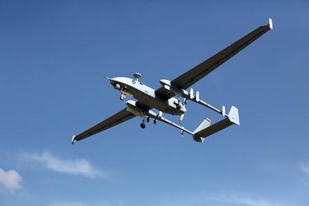 سقوط طائرة استطلاع إسرائيلية جنوب غزة