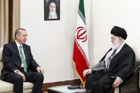 أردوغان التقى خامنئي في طهران لأكثر من ساعة