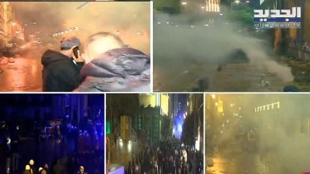 استمرار المواجهات بين المحتجين والقوى الأمنية في وسط بيروت… البث المباشر لقناة الجديد على الرابط التالي: