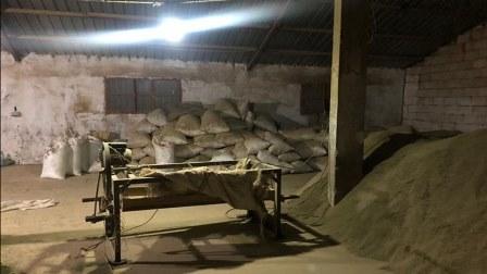 ضبط حوالى 5 أطنان من مادة حشيشة الكيف في محلة بوداي – البقاع