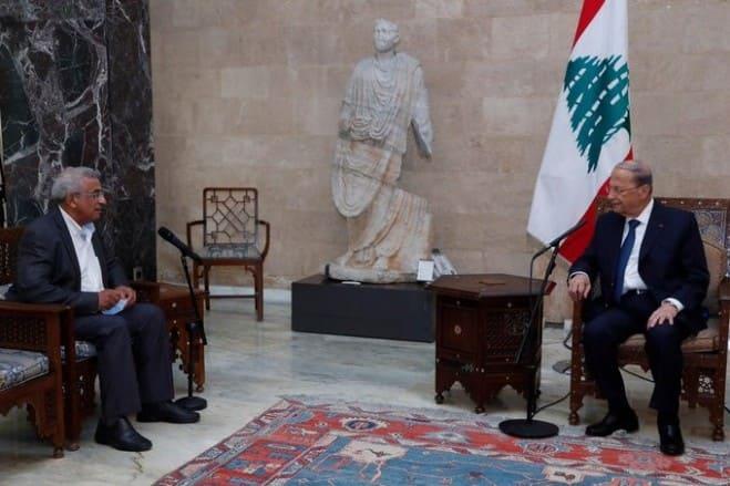 أسامة سعد بعد لقائه رئيس الجمهورية الاستشارات النيابية لزوم ما لا يلزم