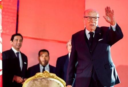 السبسي يعلن أنه لن يترشح للانتخابات الرئاسية المقبلة في تونس
