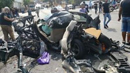 بالفيديو والصور:  11 جريحا في اجتياح شاحنة لعدد من السيارات في نزلة بشامون خلدة