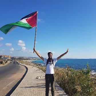 فيديو..   بنجامين لادرا مسير نحو فلسطين 2