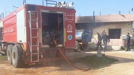 مراسل الجديد: وفاة أم وأطفالها الثلاثة بحريق منزلهم في بريتال