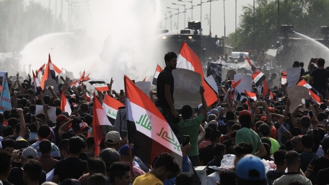 الاحتجاجات متواصلة في العراق: 28 قتيلا وإصابة 1177
