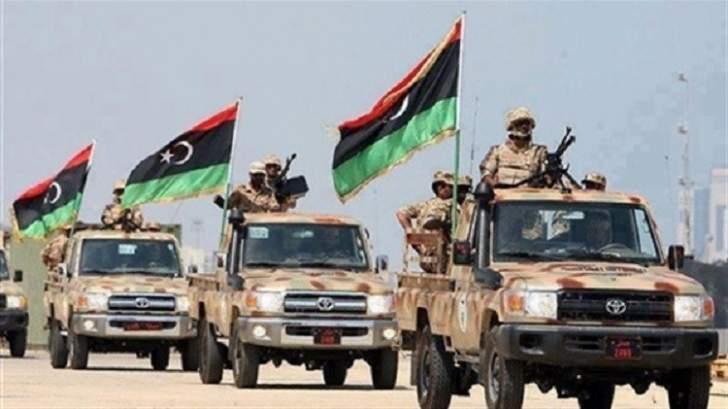 الجيش الليبي يسيطر على منطقة شيحا الغربية في درنة