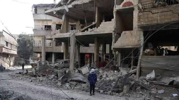 المجموعات الإرهابية في الغوطة يخططون لاستخدام الكيميائي قرب خطوط الجيش