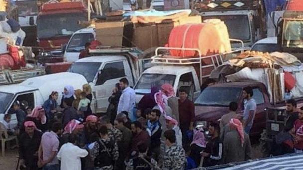 عودة دفعة جديدة من المهجرين السوريين من لبنان عبر مركز جديدة يابوس