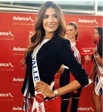 بالصور والفيديو- فوز لبنانية بلقب ملكة جمال كولومبيا