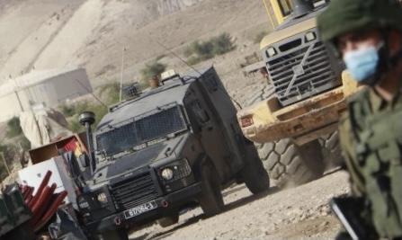 خلال نوفمبر: الاحتلال صادر 11 ألف دونم بالأغوار