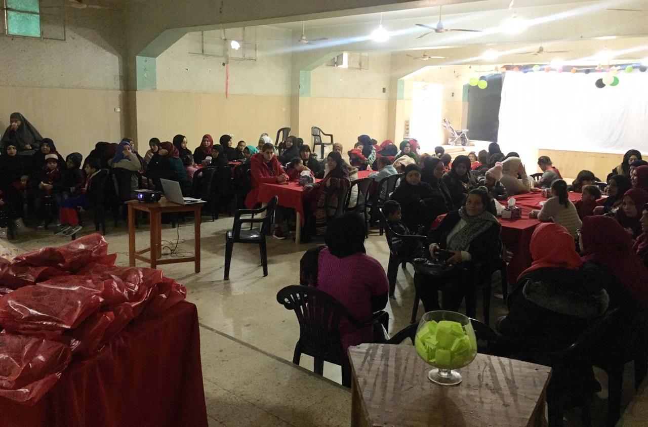 يوم مفتوح للجان المرأة الفلسطينية بدعم من جمعية نواة – مركز التضامن الاجتماعي