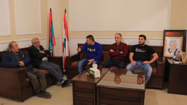 سعد يبحث في أوضاع مستشفى صيدا الحكومي مع لجنة العاملين فيها