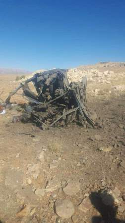 قتيل وجريح نتيجة إنفجار لغم في بيك آب بمنطقة المجر بجرود عرسال