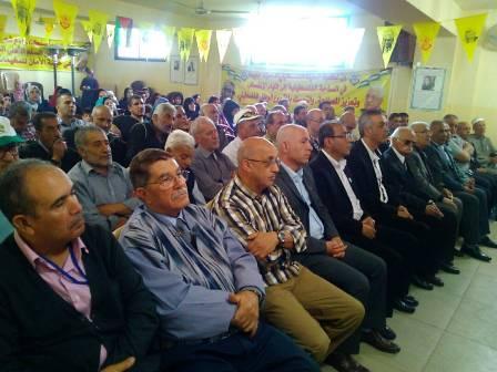 احتفال في مخيم الجليل لمناسبة عيد العمال