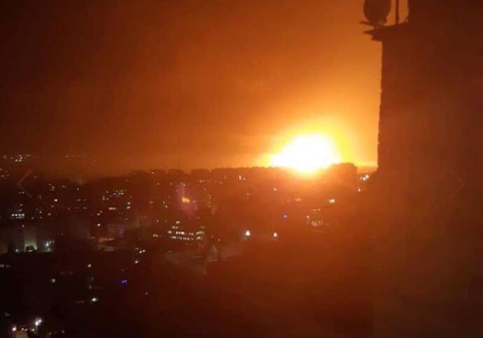 انفجارات تهز العاصمة دمشق... ومصدر عسكري يكشف عن سببها!