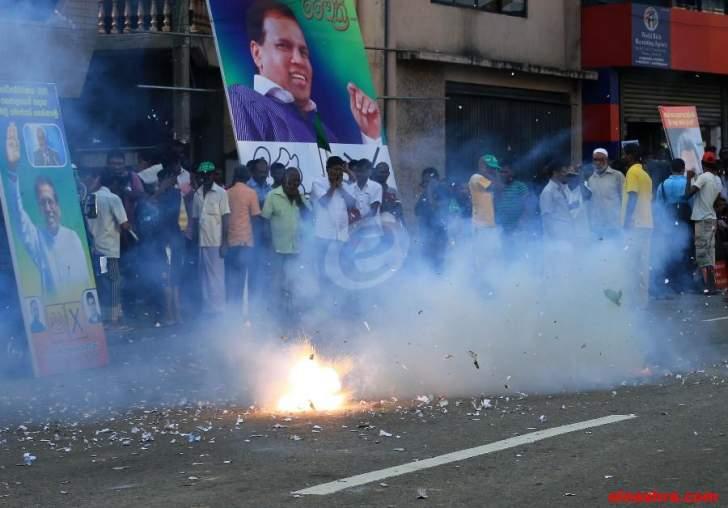 سقوط قتيل في سريلانكا على خلفية الازمة الدستورية التي تمر بها البلاد
