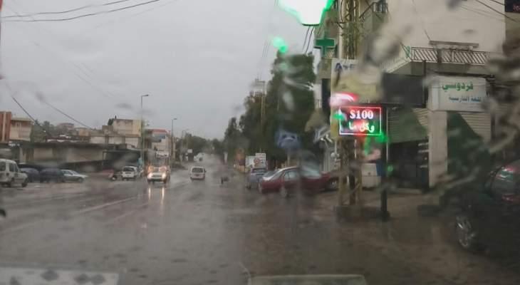 ارتفاع منسوب نهر الليطاني نتيجة الامطار الغزيرة