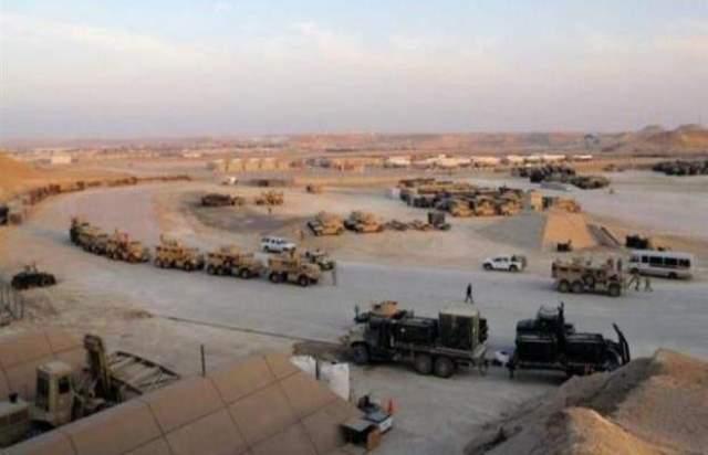 سقوط 3 صواريخ على معسكر التاجي شمال العاصمة العراقية