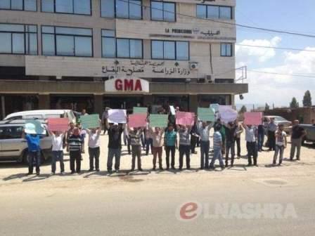 نقابة مستخدمي وعمال مؤسسة مياه البقاع تعلن الاضراب يوم غد الاثنين