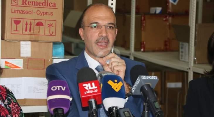 وزير الصحة: تسجيل 561 اصابة جديدة بفيروس كورونا
