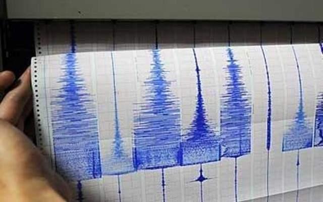 هزة أرضية بقوة 4.8 درجة على مقياس ريختر ضربت بحر إيجه بتركيا