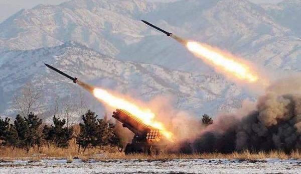 استهداف مدينة القرداحة في ريف اللاذقية بصواريخ غراد