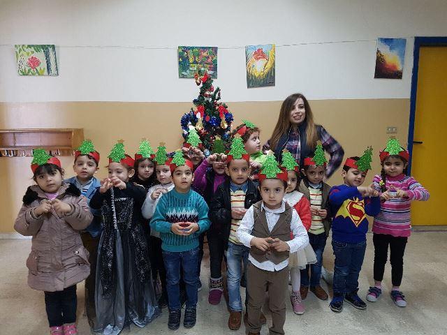 بالصور... مدارس مؤسسة معروف سعد الثقافية الاجتماعية الخيرية تحتفل بالعام الجديد والميلاد المجيد.